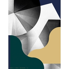 Air Poster 2016 - Les Graphicants - Abstract Geometry 7, 60X80