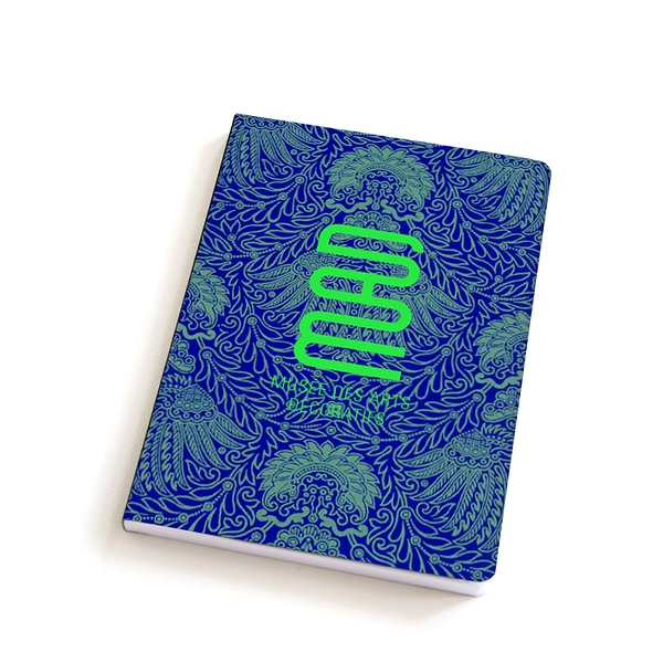 Notebook A5 Wallpaper Blue Green