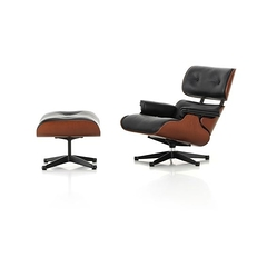 Chaise miniature Lounge Chair & Ottoman Charles & Ray Eames, 1956