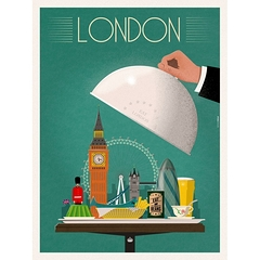 Mathieu Persan Eat London 40X50Cm