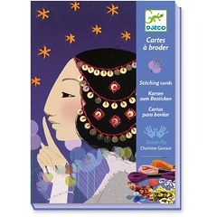 Embroidery cards 1001 nights