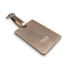 Baggage Tag Opera - Pink Gold