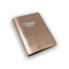 Opera passport cover - Pink gold