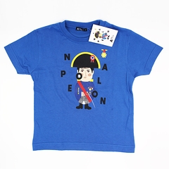 T-shirt child Napoléon blue