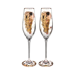 Box 2 Flutes Limited Edition The Kiss
