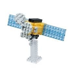 Nanoblock Orbiting Solar