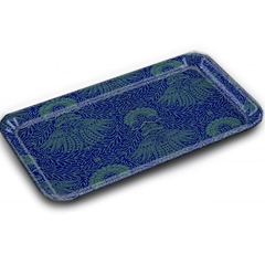 RECTANGULAR TRAY MAD - BLUE GREEN