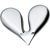 Heart Shape Steel Nut Opener